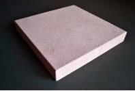 Подставка-подиум для украшений тканевая розовая, большой квадрат