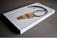 Подставка-подиум для украшений металл, большой прямоугольник