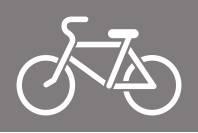 Дорожный трафарет Велосипедная дорожка