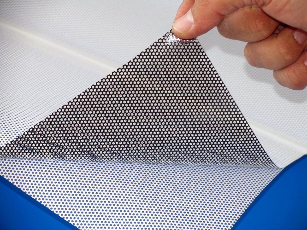 печать на перфорированной пленке