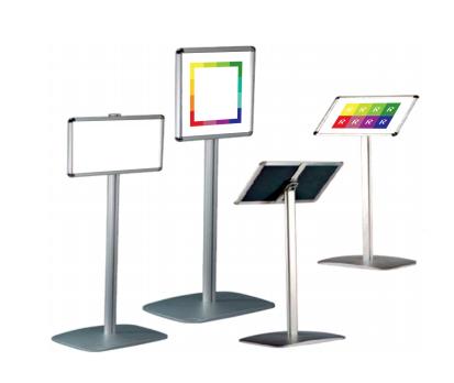 напольные информационные стойки используются для создания динамичной и привлекательной рекламы в любом доступном и интересном для Вас месте.