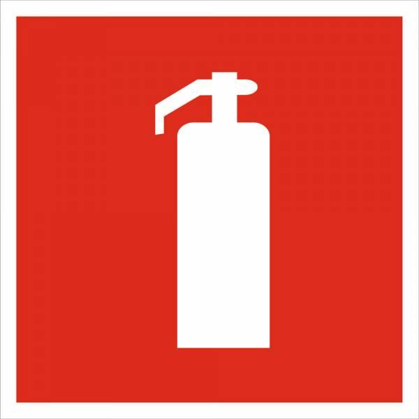 Знак 'Огнетушитель' (ГОСТ Р 12.4.026-2001) F04
