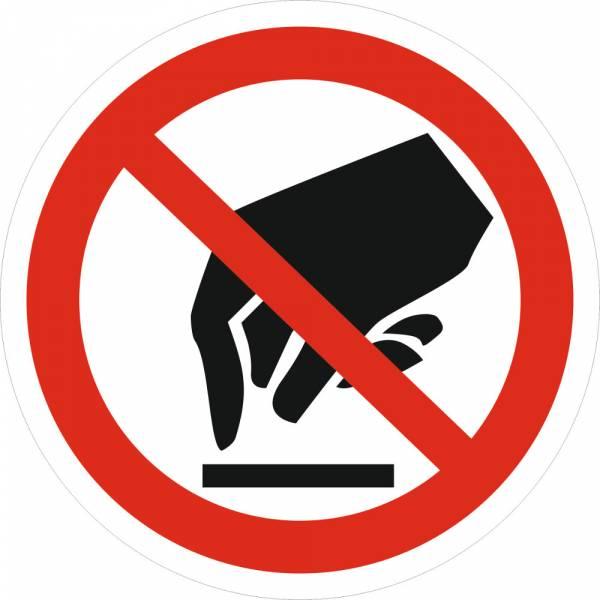 Знак 'Запрещается прикасаться' (ГОСТ Р 12.4.026-2001) 200х200 мм P08