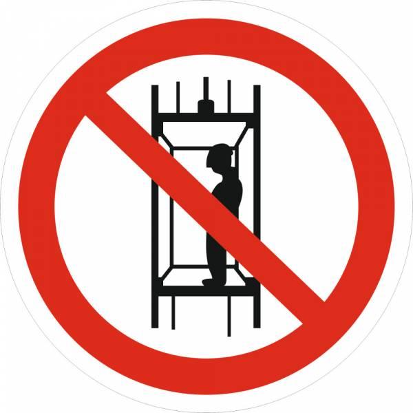 Знак 'Запрещается транспортировка пассажиров' (ГОСТ Р 12.4.026-2001) 200х200 мм P13