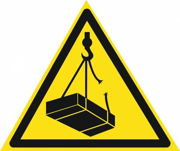 Знак 'Опасно. Возможно падение груза'  200х200х200 мм W01