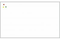 Магнитно-маркерная настенная информационная доска в алюминиевой багетной рамке (1000х2500)