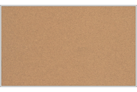 Пробковая настенная информационная доска в алюминиевой багетной рамке(1000х1500)