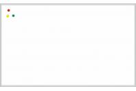 Магнитно-маркерная настенная информационная доска в алюминиевой багетной рамке (900х1200)
