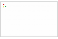 Магнитно-маркерная настенная информационная доска в алюминиевой багетной рамке 100х150 см