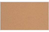 Пробковая настенная информационная доска в алюминиевой багетной рамке (1000х2000)