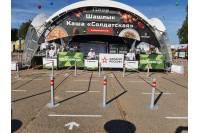 Оформление мероприятия - брендирование шатра-павильона и прилавков для форума Армия-2020
