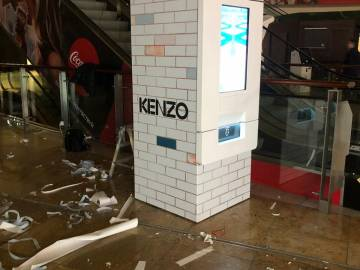 Брендирование вендингового автомата «Кензо»