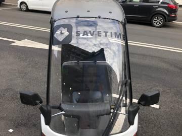 Оклейка скутеров для компании Savetime